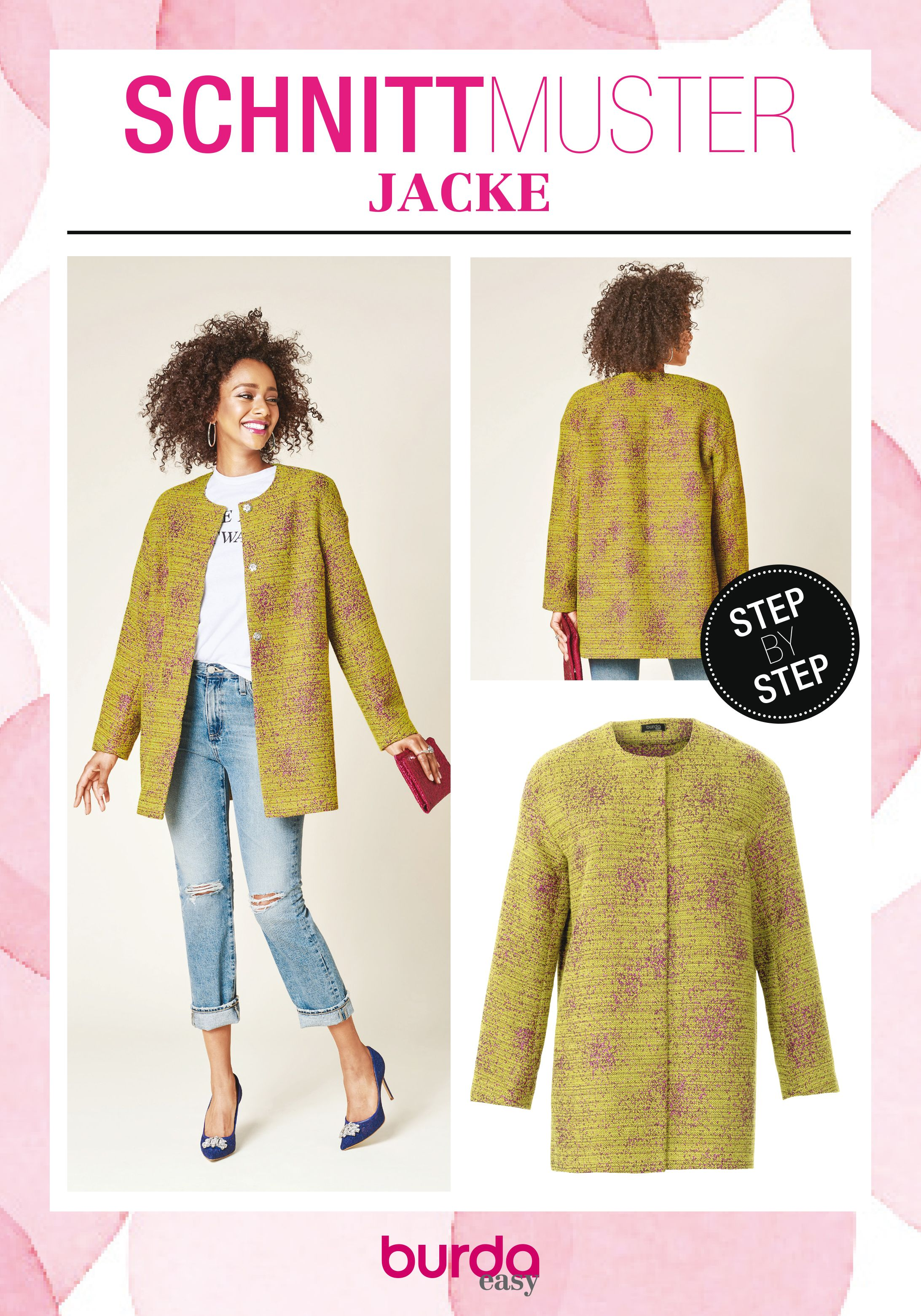 Jacke | Mode zum Selbernähen im burda style Onlineshop