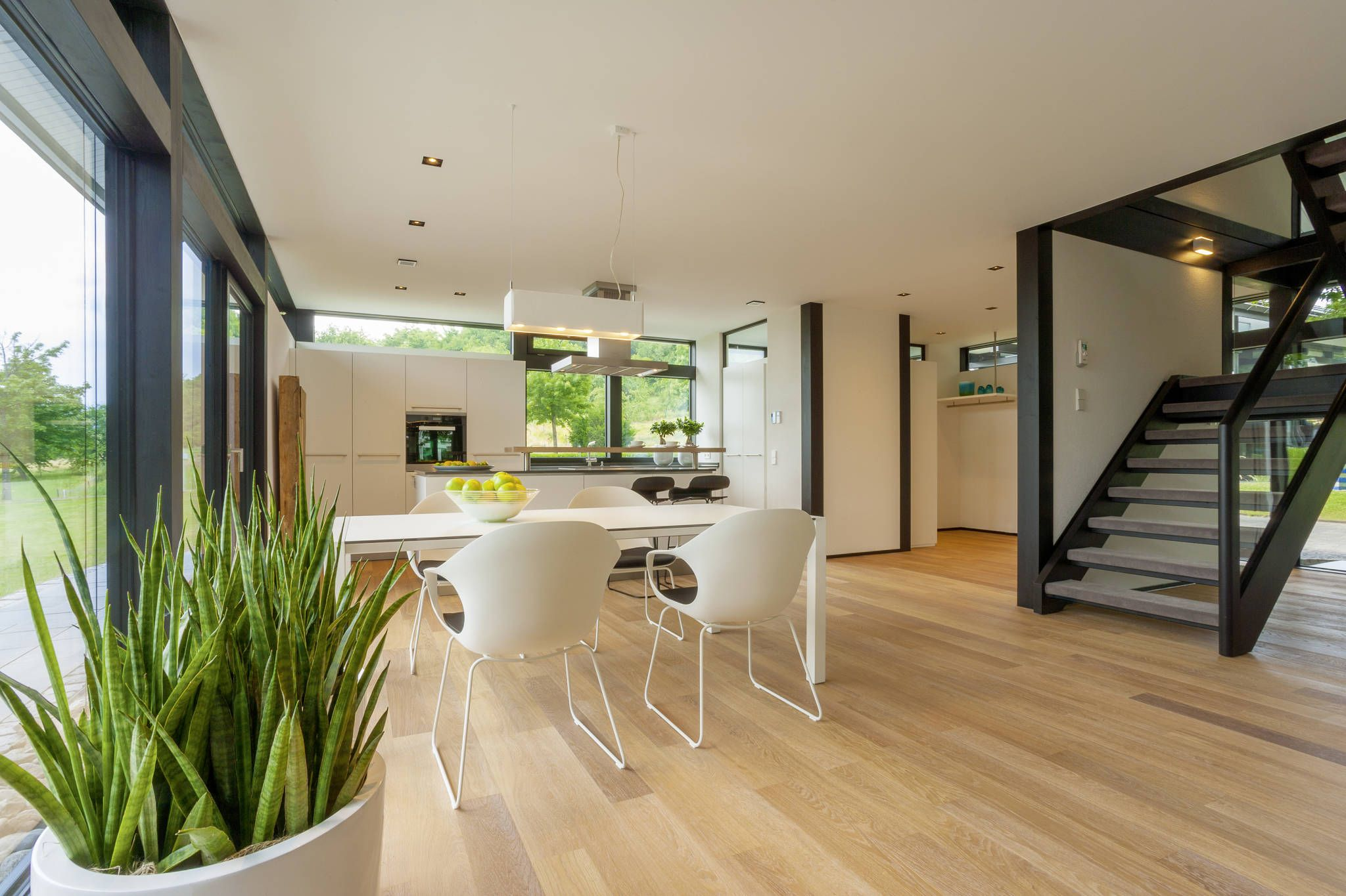 Moderne Esszimmer Bilder: HUF Haus modum: 7:10 | Huf, Haus and Modern