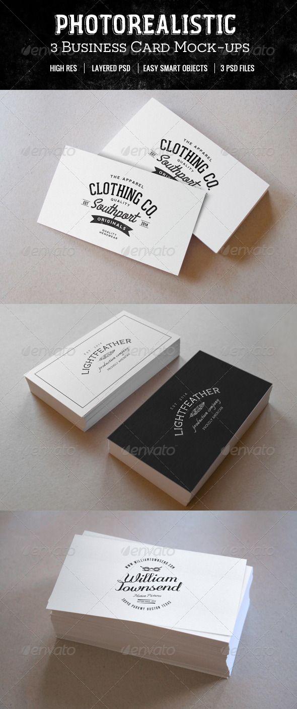 Photo realistic business card mockups mock up and business cards photo realistic business card mockups colourmoves