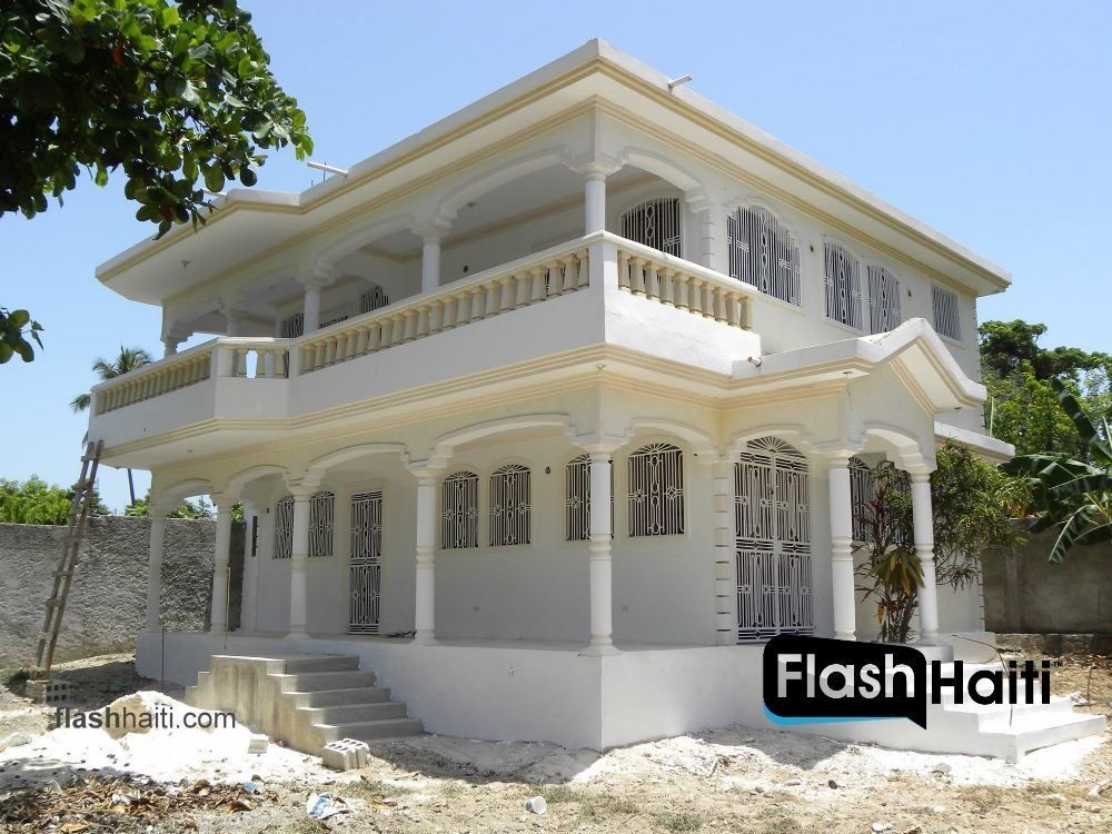 Two Story House For Sale In Meyer Jacmel Small Houses For Sale Story House Two Story Homes