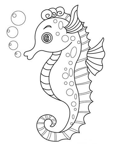 Kleurplaten Over Zeedieren.Zeedieren Kleurplaten Points Coloring Pages Animal Coloring