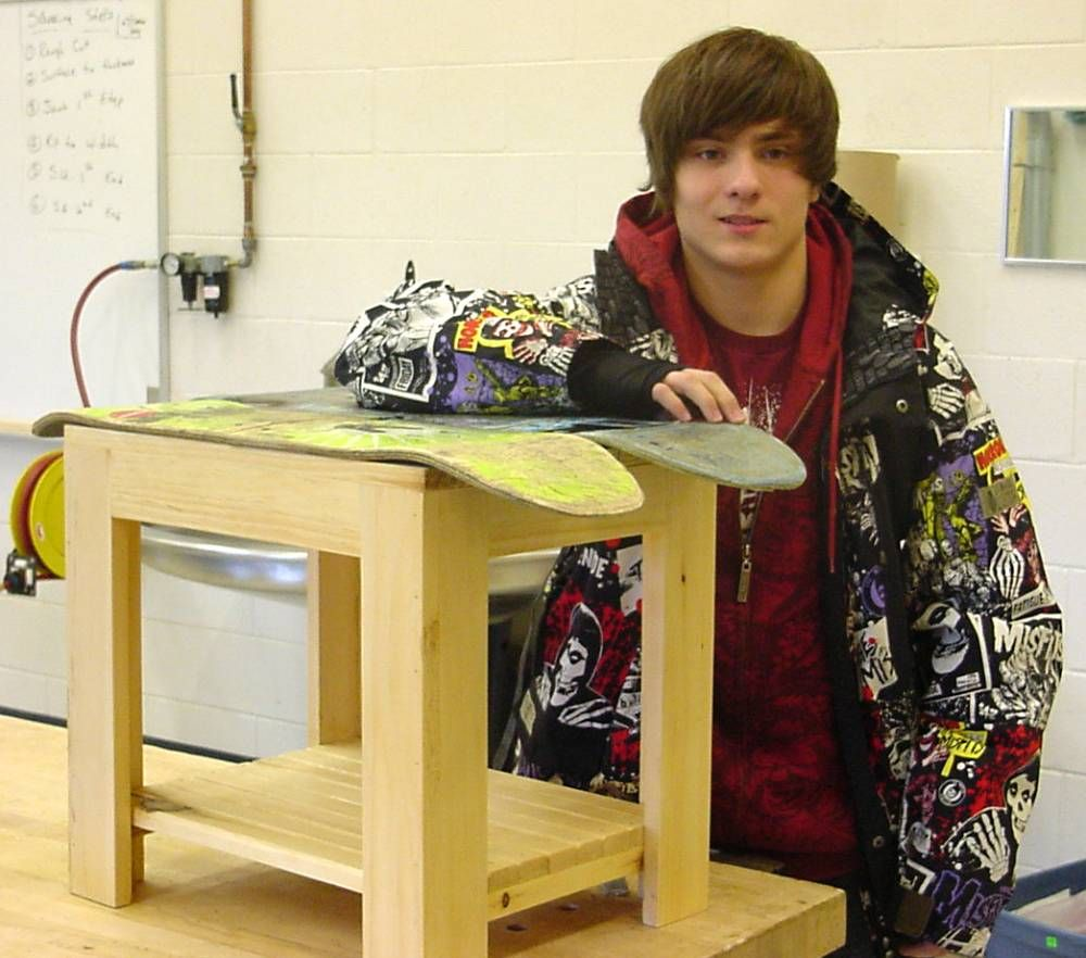 High School Woodshop Project Ideas Schmeck S Ideas Pinterest