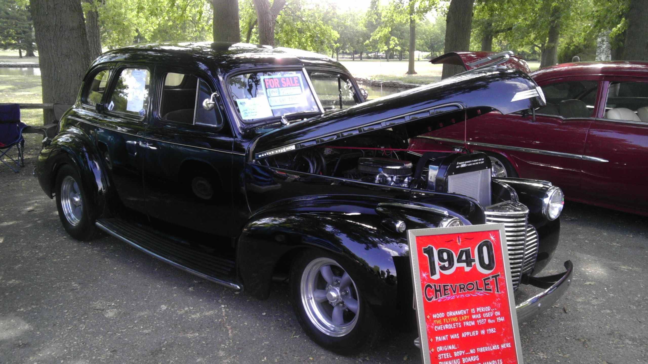 1940 chevrolet 4 door sedan street rod for sale at www motorntv com