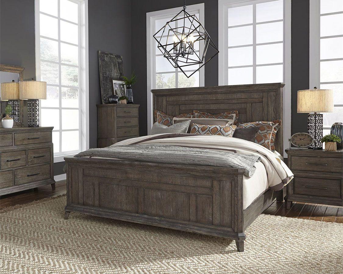 Artisan prairie panel bedroom set in 2020 rustic bedroom