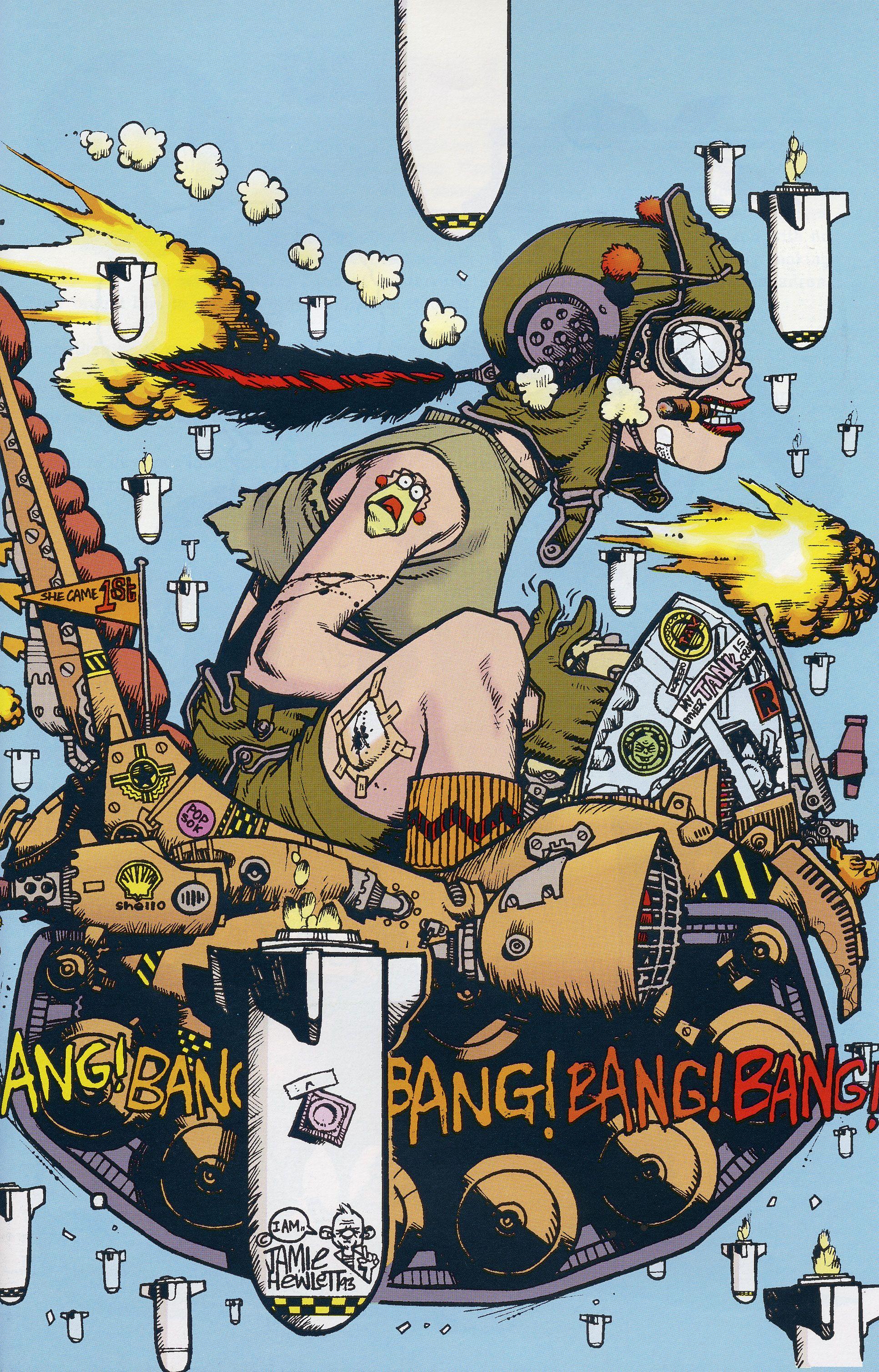 56 Best Tank Girl Booga Images Tank Girl Tank Girl Comic Comic Art