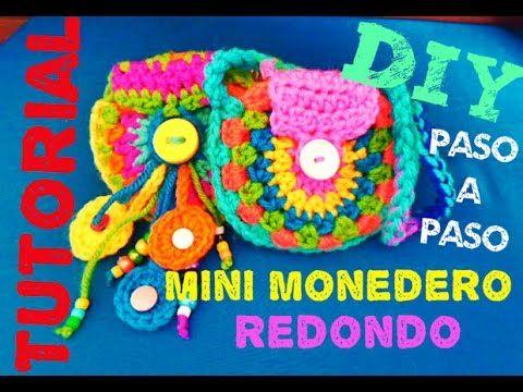 Resultado de imagen de monederos a crochet Croche Pinterest