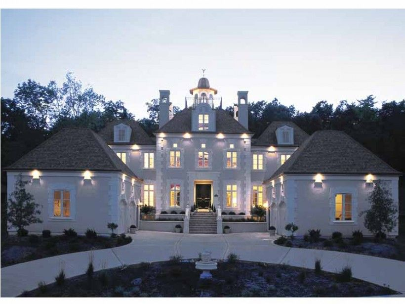 European Style House Plan 4 Beds 3 5 Baths 3335 Sq Ft Plan 20 1117 Luxury House Plans Mansions Gorgeous Houses