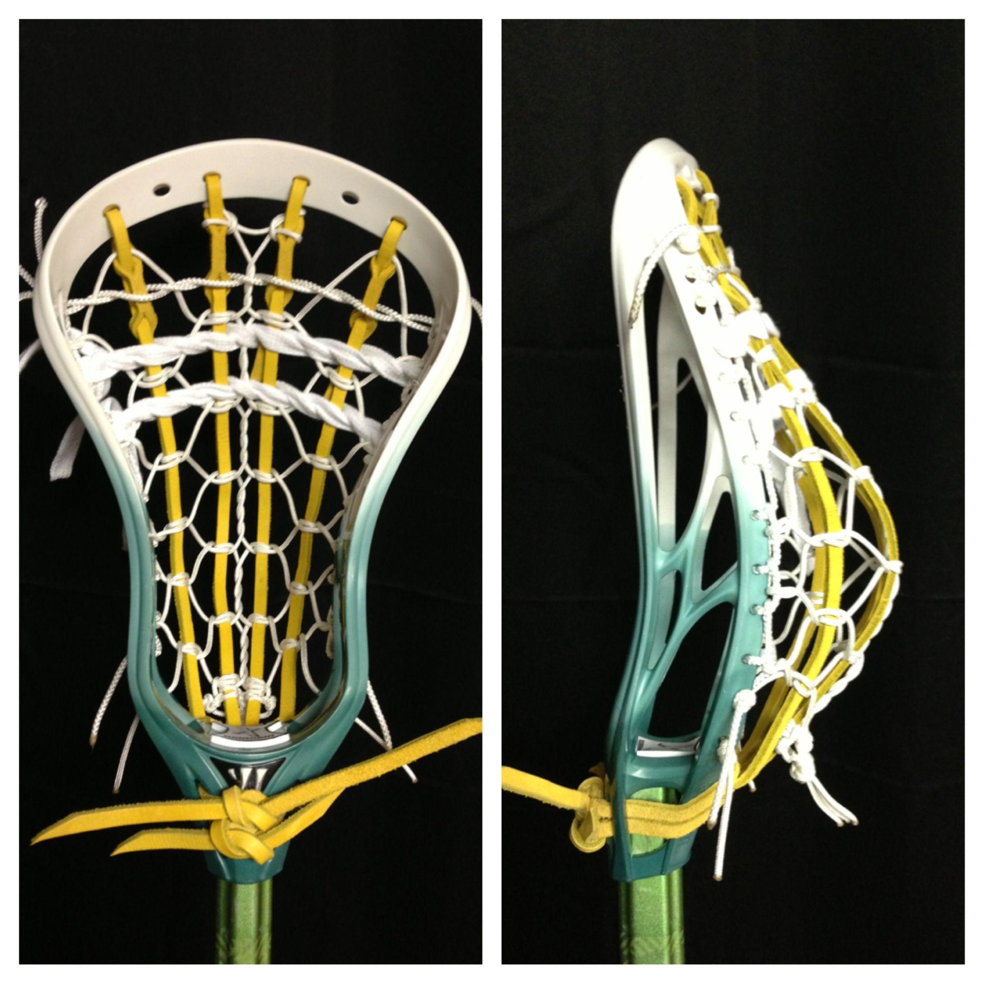 Fade Dye Warrior Evo X W Pita Pocket Evo X Evo Lacrosse