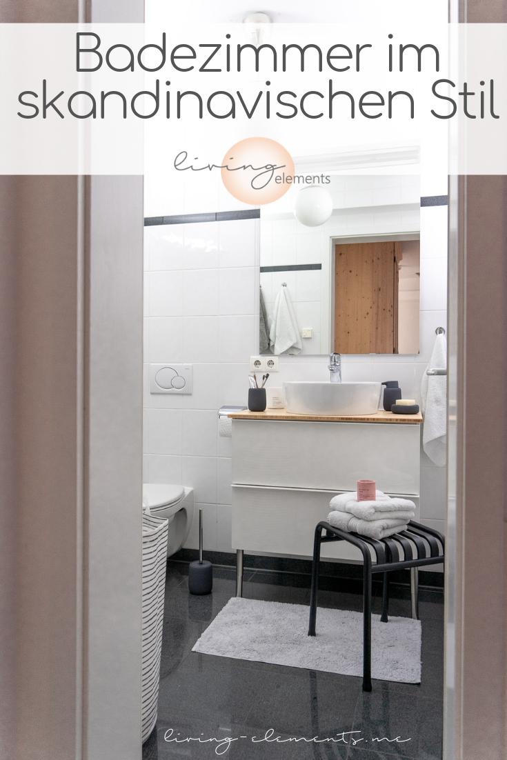 Ein kleines Badezimmer neu gestalten im skandinavischen ...