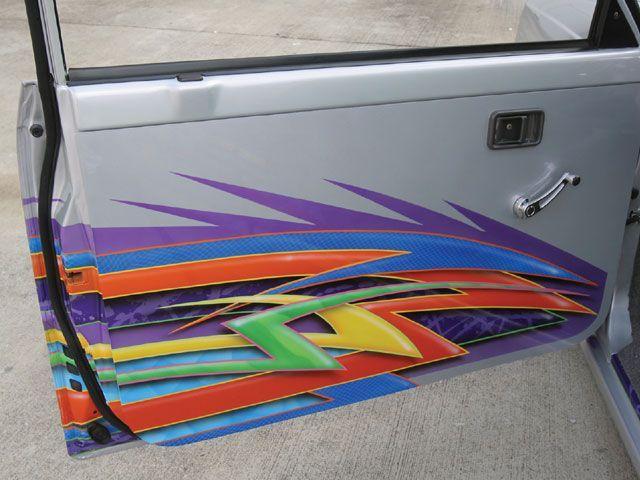 1993 Mazda B2200 Custom Graphics Photo 5 Mini Trucks Mazda Sport Truck
