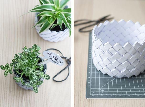 pin von barbara von stein auf papier pinterest papier korb und basteln mit papier. Black Bedroom Furniture Sets. Home Design Ideas