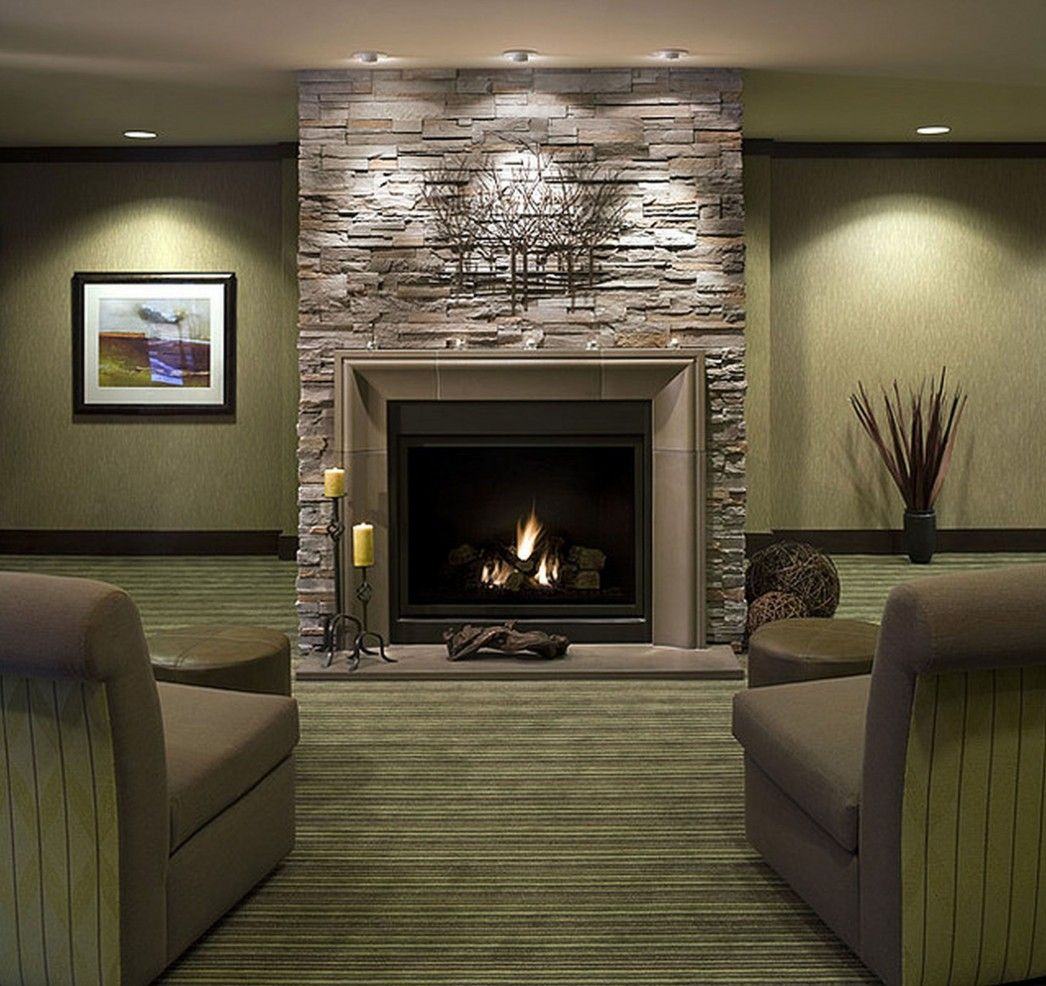 Modern Stone Fireplaces fireplace designs with brick lounge chairs in living room stone
