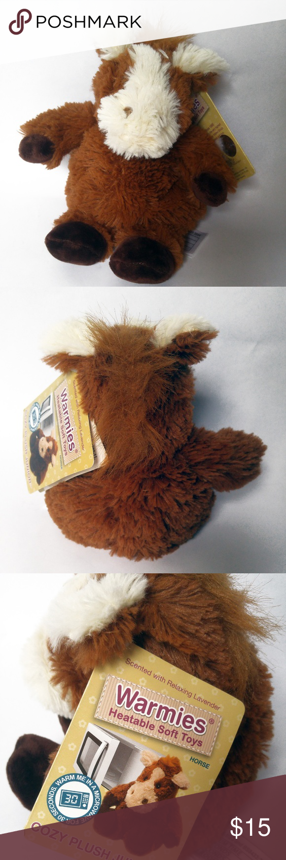 Warmies® Microwavable French Lavender Scented Plush Horse Junior