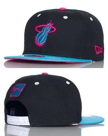 best authentic 1109a e9db9 NEW ERA MIAMI HEAT SNAPBACK- Multi-Color