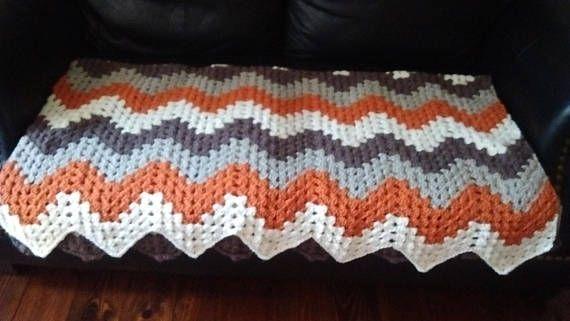 Crochet Granny Ripple Blanket Crochet Pinterest Crochet Granny