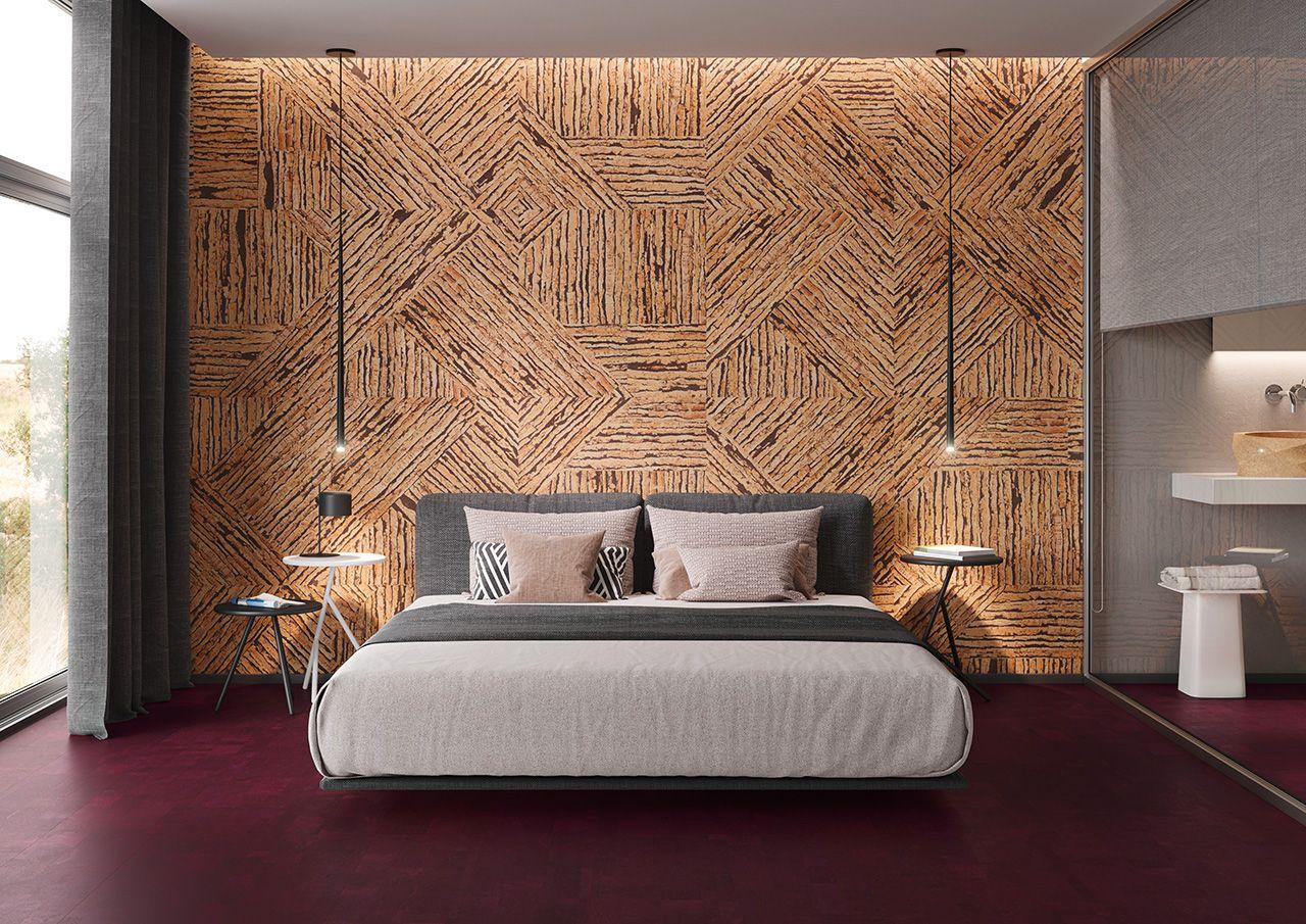 Cork Wall Panels Bedroom Inspiration Ecofriendly Insulation Bedroomdecor Cork Wall Panels Cork Wall Tiles Wall Panels Bedroom