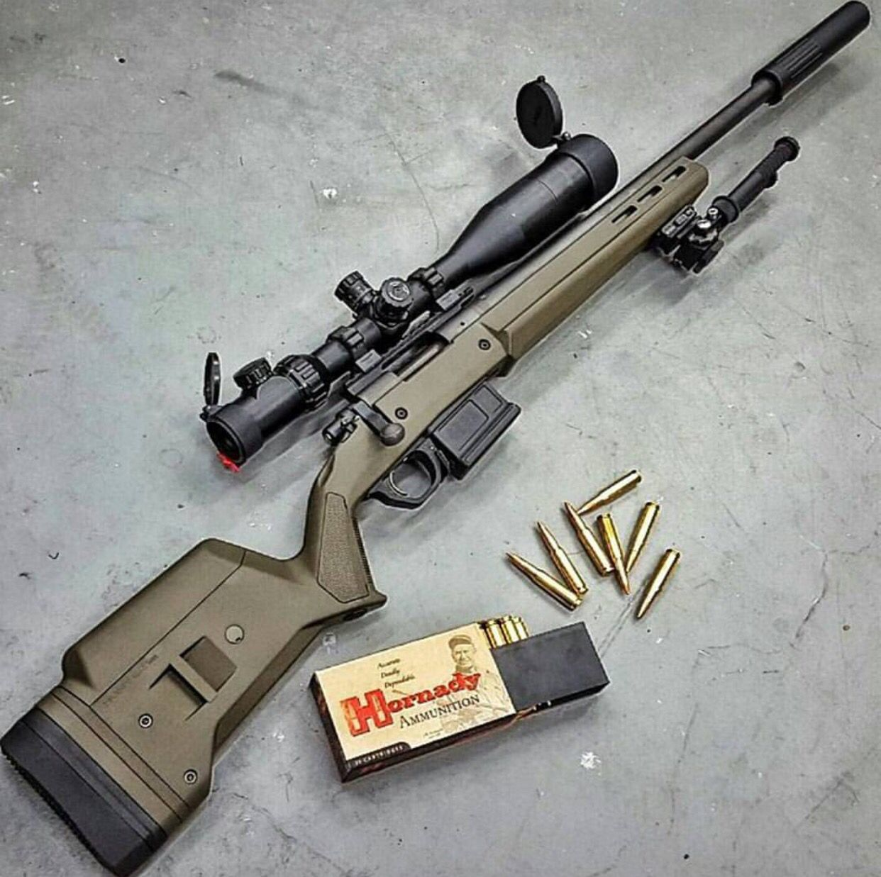 Remington 243 Magpul Hunter 700 Survivalism Pinterest