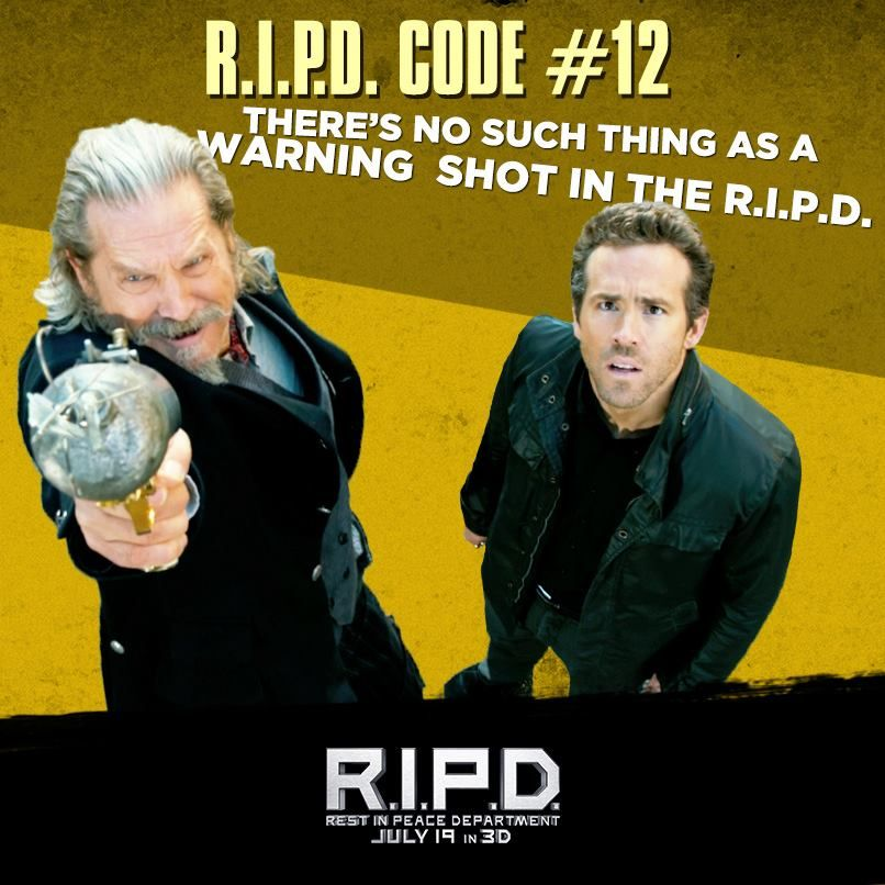 Starting This Friday At The Imu Cab Will Be Showing R I P D In
