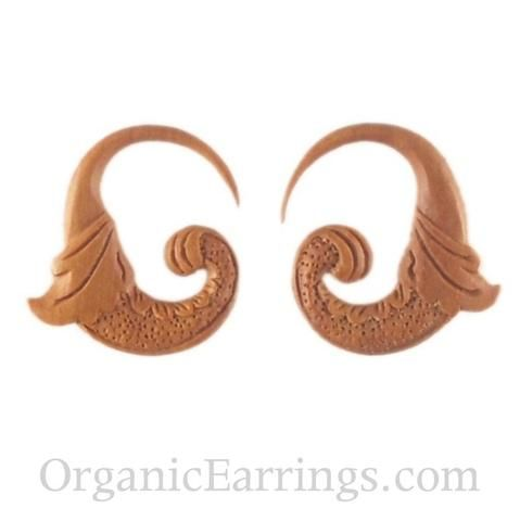 10 Gauge Earrings Organic Body Jewelry Gauged