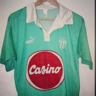 4a6fdfc27 1990 91 Saint Etienne football shirt from  timelessfootball - love this  rate St Etienne