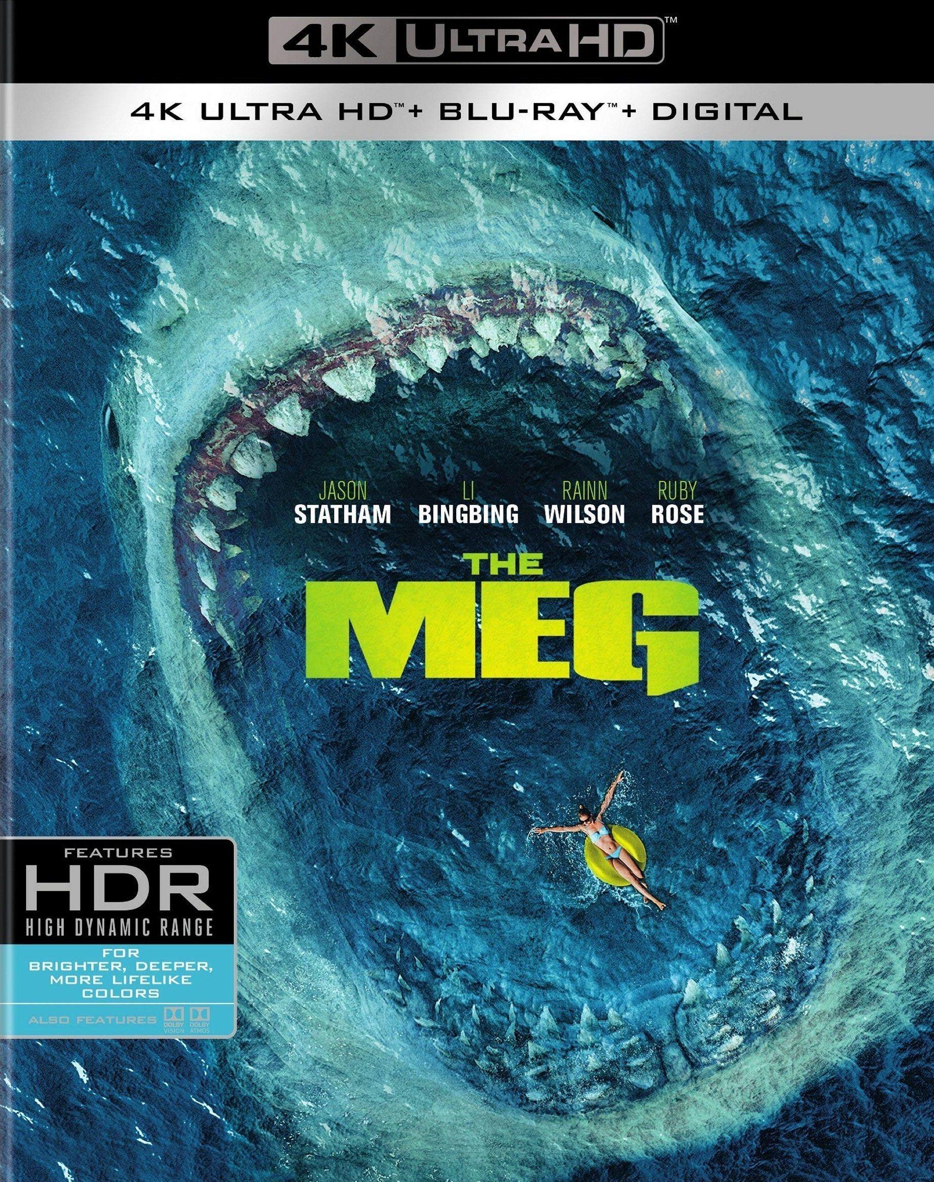 The Meg 4k Blu Ray Blu Ray Blu Ray Movies Dvd