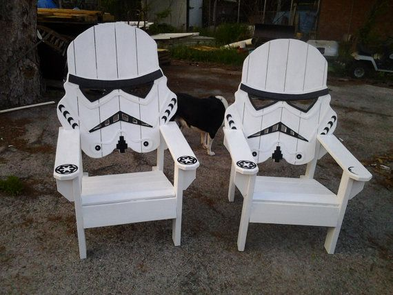 Star Wars Storm Trooper Chair Adirondack Chair Yard