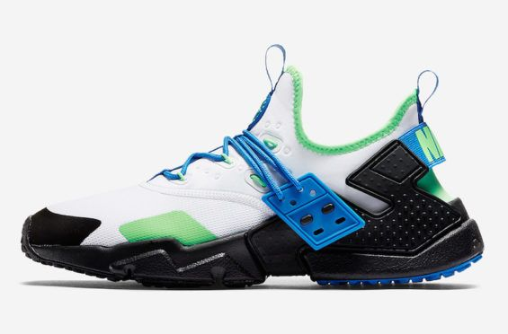 ee421f4d9274 The Nike Air Huarache Drift Just Released In Scream Green