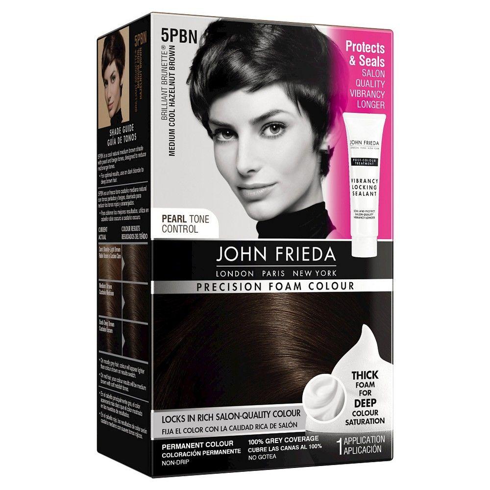 John Frieda Precision Foam Colour  Brilliant Brunette PBN Medium