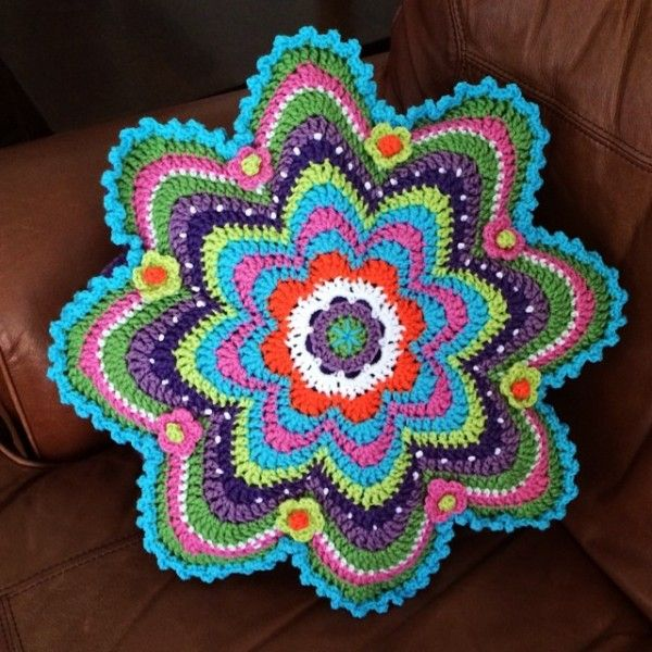 """motleycraft-o-rama: """" By Caswell Jones via Crochet Concupiscence. """" Love this! Thank you for sharing @motleycraft-o-rama . Had to reblog."""
