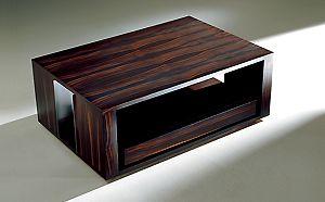 LS COCKTAIL MACASSAR EBONY LOW TABLE