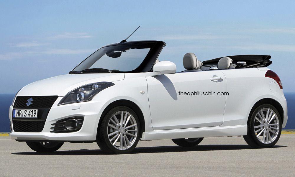 Suzuki Swift Imagined As A Cabriolet Rendering Suzuki Swift