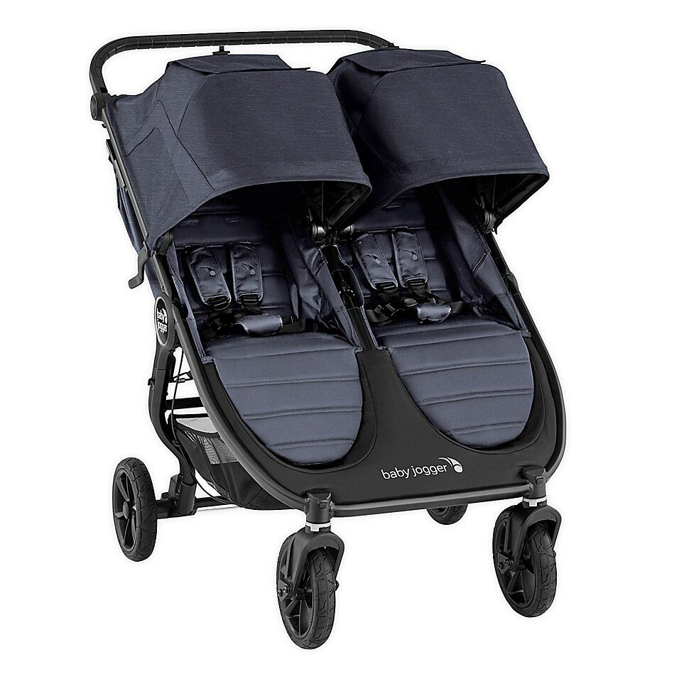 Baby Jogger City Mini Gt2 Double Stroller In Carbon Charcoal In 2020 Baby Jogger Double Strollers Baby Jogger City