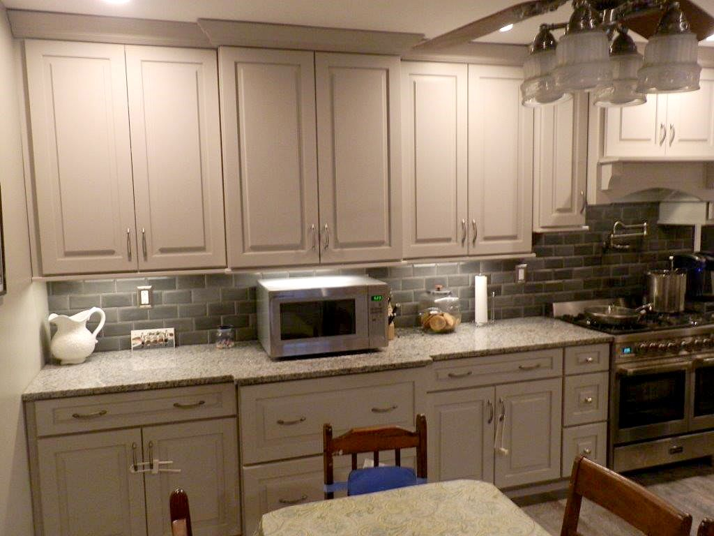 New Wilmington Pennsylvania Kitchen Remodeling Project Uses Cliqstudios Cambridge Painted Urban Stone Cabine Kitchen Remodel Modern Grey Kitchen Kitchen Design