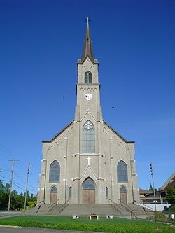 St Marys Roman Catholic Church Mount Angel Oregon 1912 Church Old Catholic Church Catholic Church