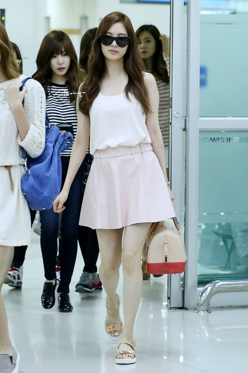 140630 seohyuns airport fashion seohyun style