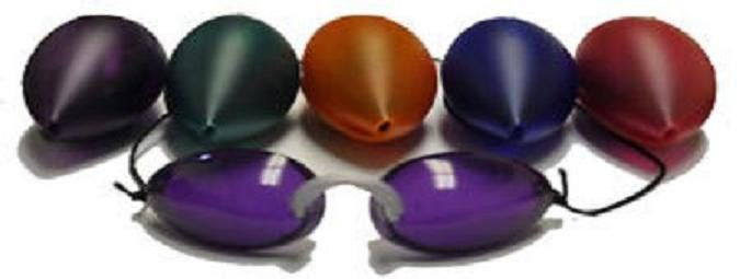 Details About Tanning Bed Eyewear Goggles Soft Podz 3 Pair With
