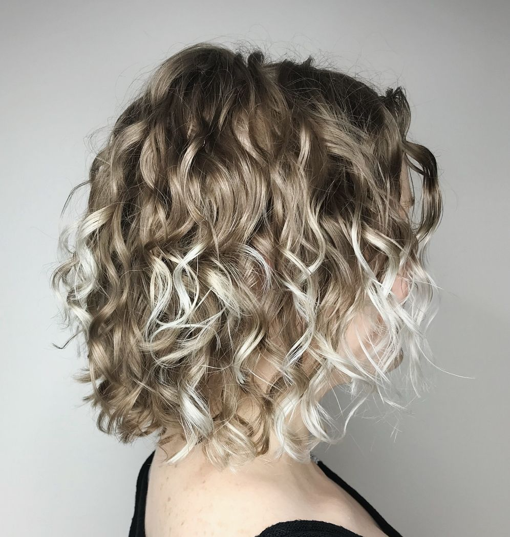 With the right hairstyles for thin curly hair you may replenish