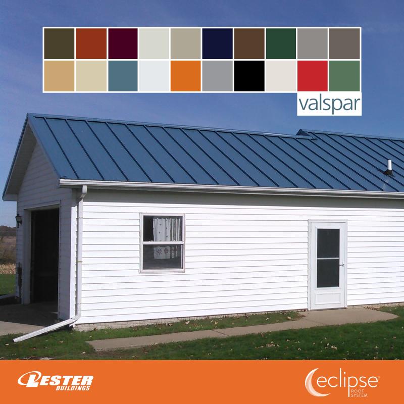 Lester Buildings Pole Barn Eclipse Metal Roofing Metal Roof Metal Roof Colors Lester Buildings