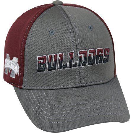 University Of Mississippi State Bulldogs Grey Two Tone Baseball Cap, Gray