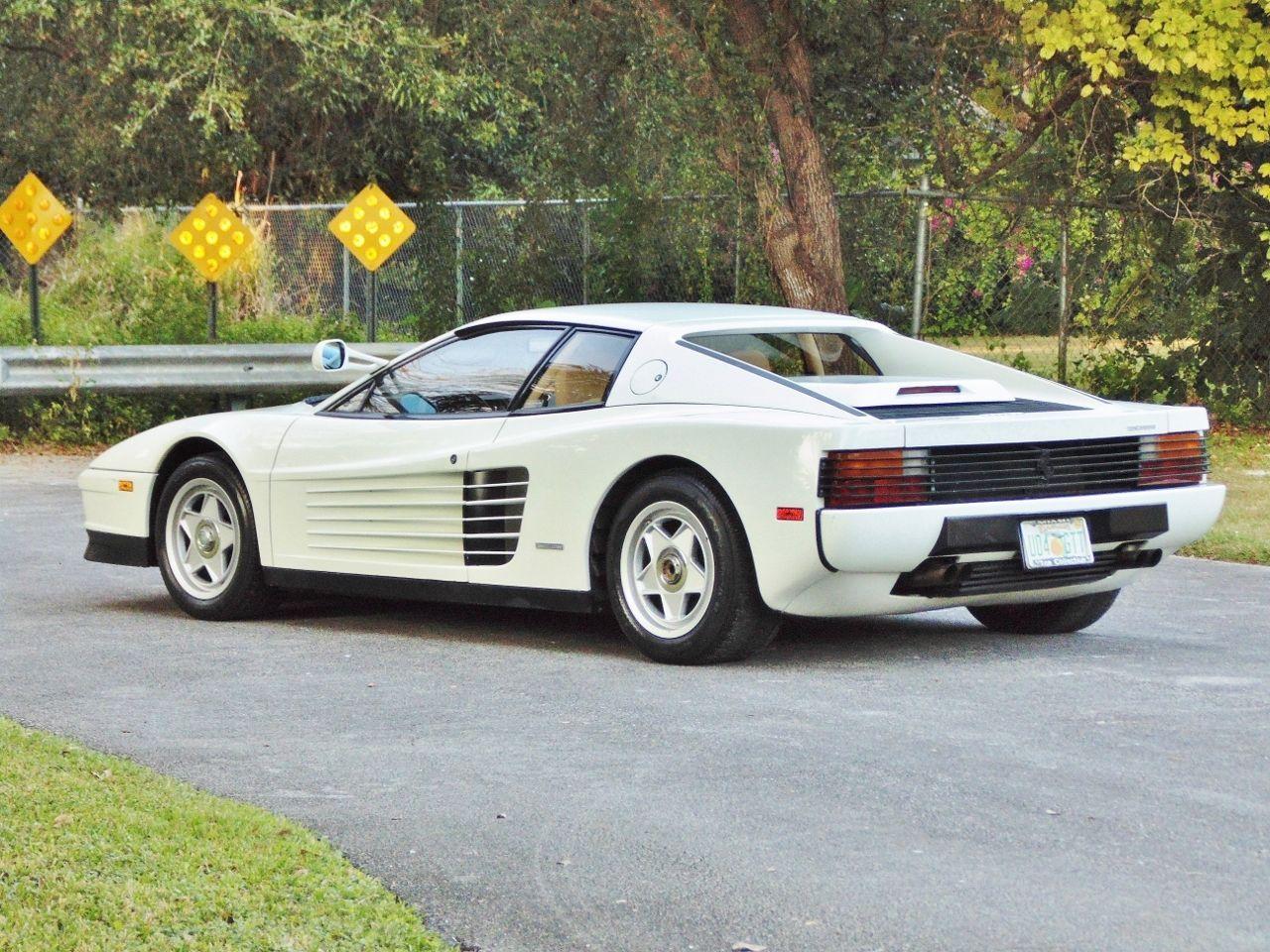 Miami Vice Style Ferrari Testarossa Miami Vice Ferrari