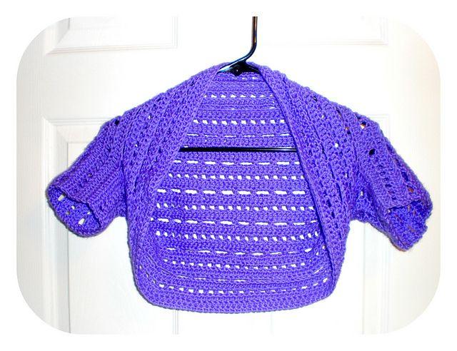 Free Downloadable Crochet Shrug Patterns | Crochet Shrugs for Girls ...