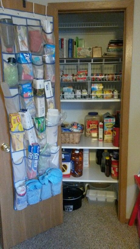 Coat Closet Turned Into A Pantry Pins Done