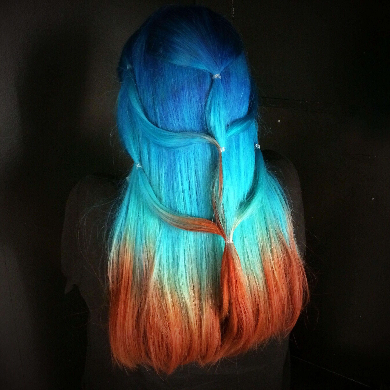 Hair by Loren Miles for Bleach London  Amazing Hair Ideas