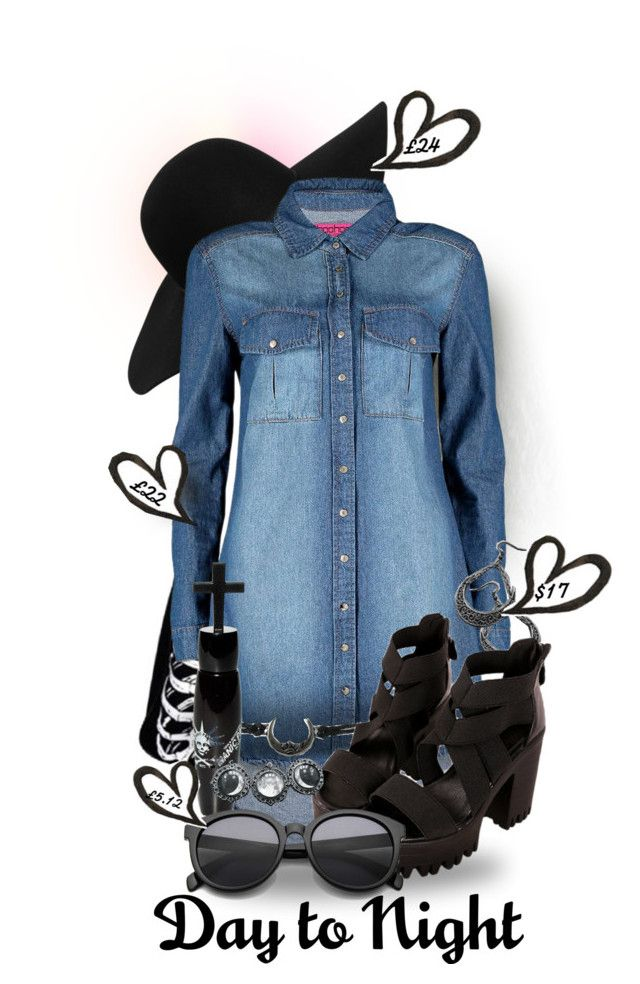 """Day to Night"" by nowheregirl17 ❤ liked on Polyvore"