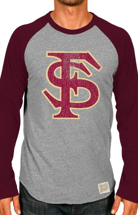 Men's Long Sleeve Florida State Baseball Tee