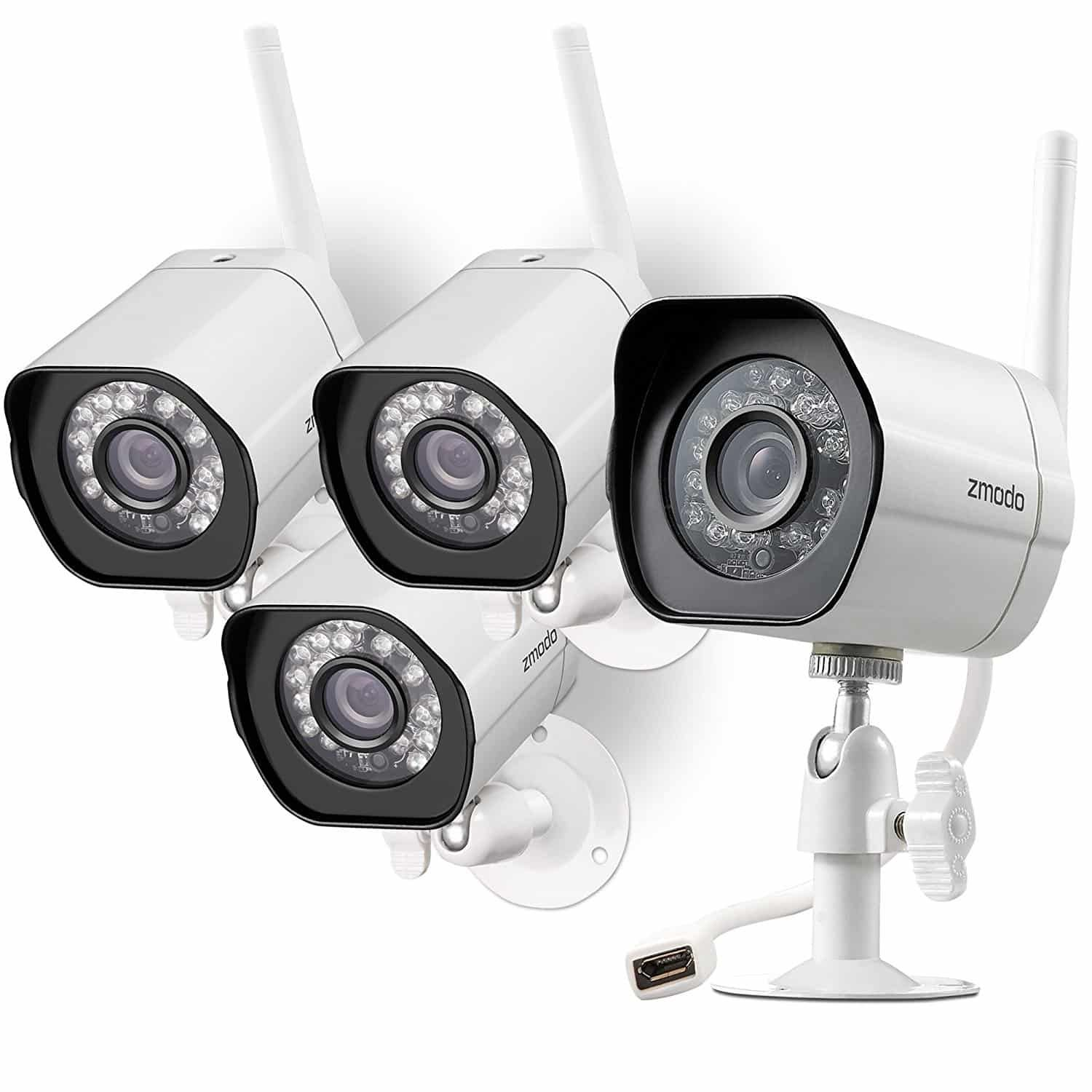 Top 10 Best Security Cameras Reviews In 2018 Cheap Security Cameras Wireless Security Camera System Security Cameras For Home Wireless Home Security Systems