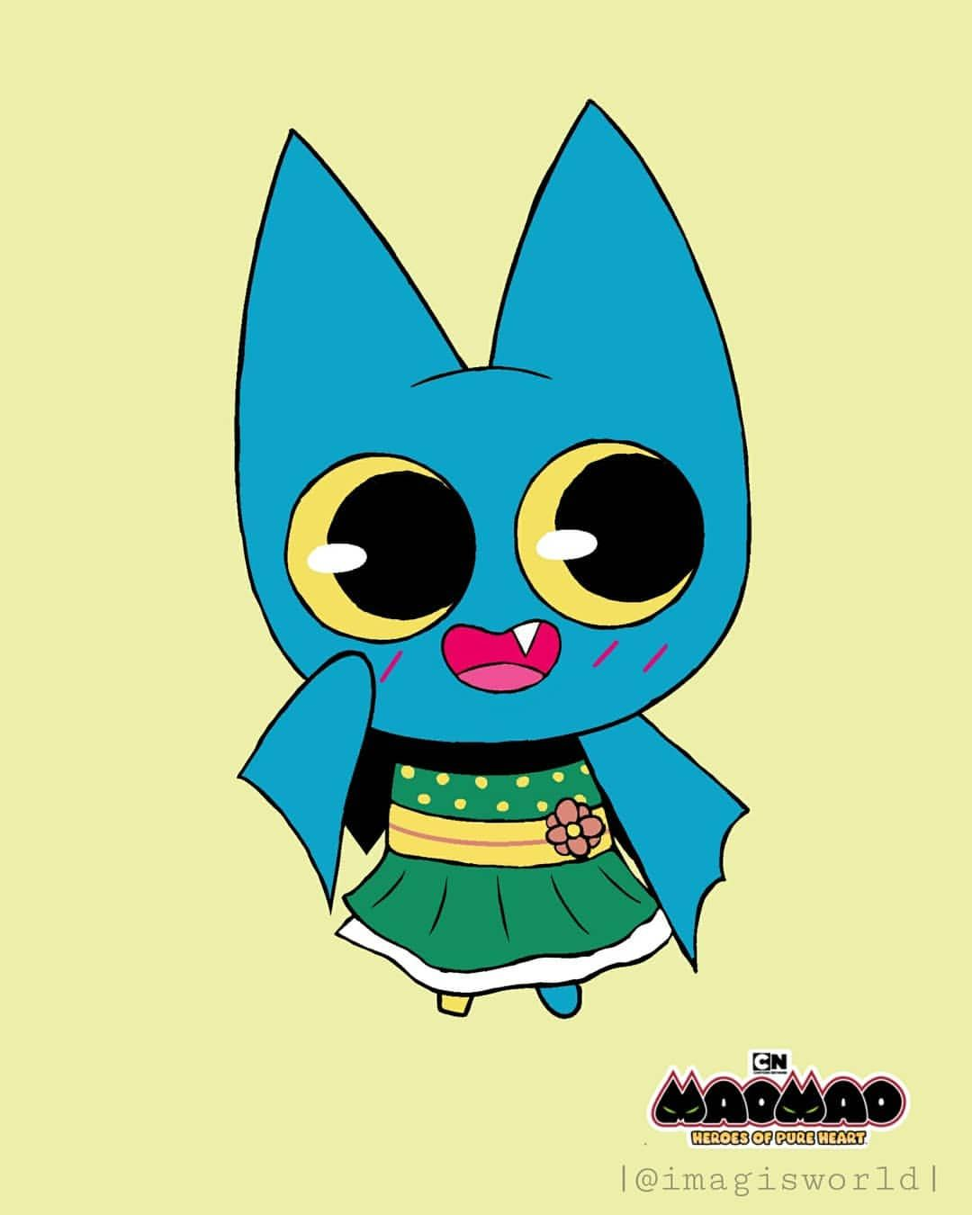 The Adorable Bat Adorabat Wallpaper You Can Download It In My Tumblr Link In Bio Maomaoheroesofpureheart Ad Cartoon Network Nickelodeon Cartoon In some cases you can use cute instead an. the adorable bat adorabat wallpaper you