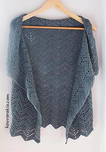 Crochet Patterns Galore Chevron Wrap Vest patterns to try Delectable Crochet Patterns Galore