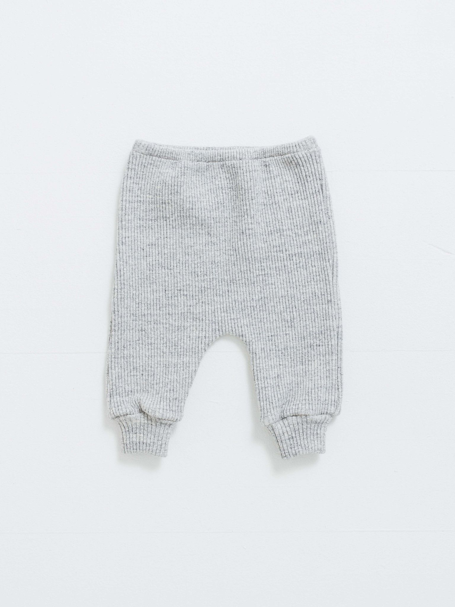 Grey Rib Sweatpant