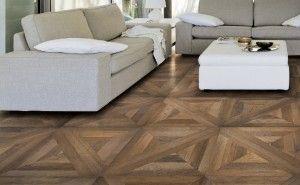 Parquet Wood Look In Porcelain Tile